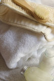 massagerhandduk arkivfoton