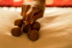 Massagerolle lizenzfreie stockfotografie