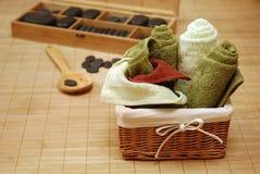 massageset Royaltyfri Bild