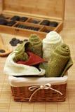 massageset Royaltyfri Fotografi