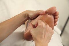 Massageterapi royaltyfri bild
