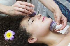 Massagetraubentaschen Stockfoto