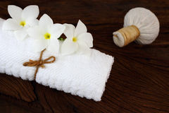 Massageuppsättning. Royaltyfri Fotografi