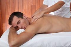 Massagezeit Stockfotos