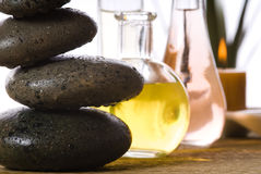 Massagezeit Lizenzfreies Stockfoto