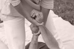 Massaggio Immagine Stock
