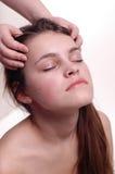 Massaggio capo Immagine Stock Libera da Diritti