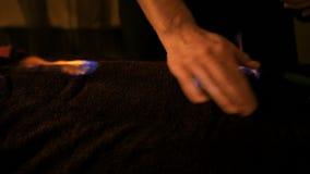 Massaggio cinese e terapia del fuoco archivi video