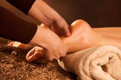 Massaggio del piede Fotografia Stock Libera da Diritti