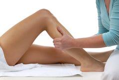 Massaggio del piedino Fotografie Stock Libere da Diritti