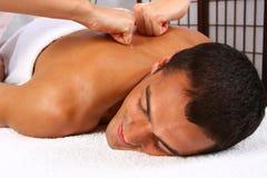 Massaggio dell'uomo Immagine Stock Libera da Diritti