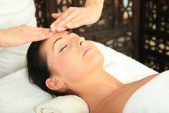 Massaggio della donna Fotografia Stock Libera da Diritti