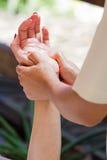 Massaggio della mano Fotografia Stock Libera da Diritti