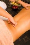 Massaggio della parte posteriore Fotografia Stock