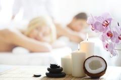 Massaggio della stazione termale