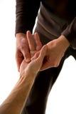 Massaggio di agopuntura Immagini Stock Libere da Diritti
