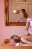 Massaggio di Ayurvedic Fotografie Stock