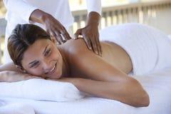 Massaggio di distensione Fotografie Stock