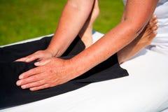 Massaggio di polarità Fotografie Stock Libere da Diritti