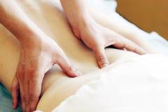 Massaggio di rilassamento Fotografie Stock Libere da Diritti
