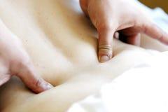 Massaggio di rilassamento Immagine Stock