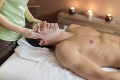 Massaggio facciale Immagini Stock Libere da Diritti