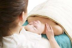 Massaggio facciale Fotografia Stock
