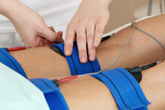 Massaggio per i piedi. Immagine Stock
