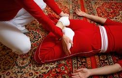 Massaggio tailandese immagini stock libere da diritti