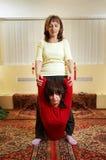 Massaggio tailandese Immagini Stock