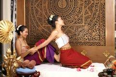 Massaggio tailandese sano fotografia stock