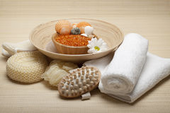 Massaggio - trattamento della stazione termale Immagine Stock