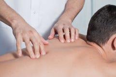 Massaging Stock Photo