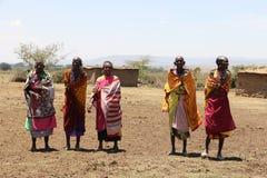 Massai kobiety Fotografia Stock