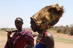 Massai mężczyzna fotografia royalty free
