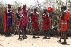 Massai man Royalty Free Stock Photos