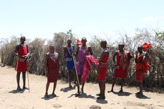 Massai people Royalty Free Stock Photography
