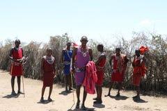 Massai people Stock Photo