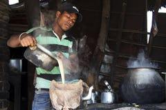 Massala Chai, cualquier persona. Fotos de archivo