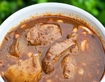 Massaman curry Stock Image