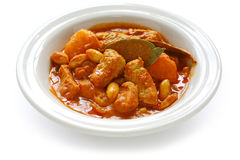 Massaman curry, thai food Royalty Free Stock Image