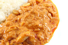 Massaman Currythunfisch Stockfotos