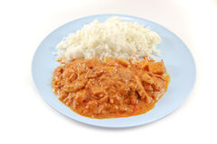 Massaman Currythunfisch Stockbild