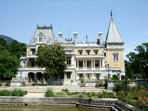 Massandra宫殿克里米亚 库存照片