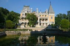 Massandra Palace. The Massandra Palace near Yalta. Crimea, Ukraine Royalty Free Stock Images