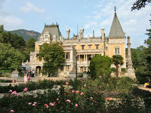 Massandra Palace of Emperor Alexander 3 in Crimea Royalty Free Stock Image