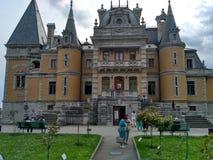 Massandra Palace Royalty Free Stock Photo
