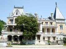 Massandra Palace fasade Crimea Stock Images