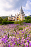 Massandra Palace, Massandra, Yalta, Crimea, Gurzuf, Russian, Got Royalty Free Stock Photos