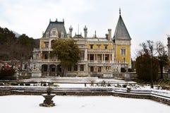 Massandra Palace near Yalta Royalty Free Stock Image